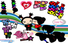 Pucca Love Dress Up